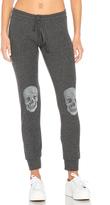 Lauren Moshi Kizzy Heart Skull Classic Sweatpant