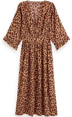 Scotch & Soda Leopard Dress - Small