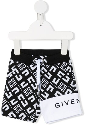 Givenchy Kids 4G-print track shorts