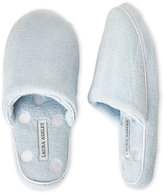 Laura Ashley Pillow Wedge Dot Slippers