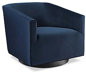 Modway Twist Accent Lounge Performance Velvet Swivel Chair