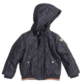Armani Junior Boy's Jacquard Camo Jacket
