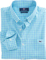 Vineyard Vines Tipsy Turtle Check Slim Tucker Shirt