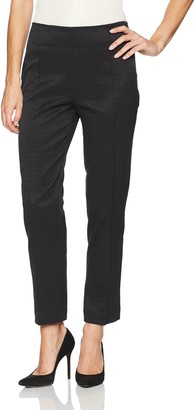 Nanette Lepore Women's Skinny Pull On Ankle Pant/Textured Stretch
