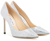 Jimmy Choo Memento Romy 100 Metallic Pumps