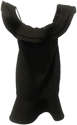 C/Meo Black Cotton Dresses