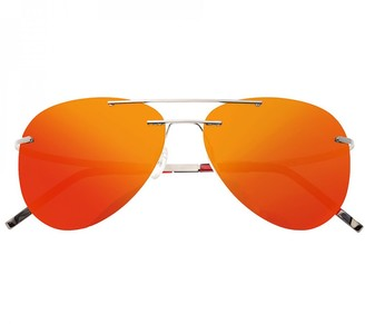 Breed Luna Polarized Titanium Sunglasses