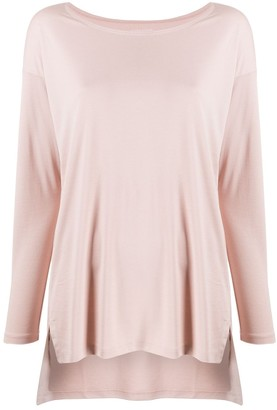 Eileen Fisher Long-Sleeved Knitted Top