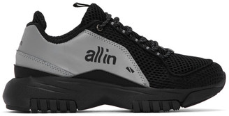 all in Black and Silver ID Sneakers