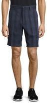 Haggar Big and Tall C18 Shadow Plaid Shorts