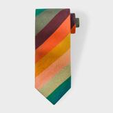 Paul Smith Men's 'Artist Stripe' Narrow Silk Tie