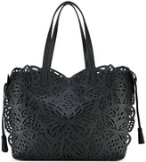 Sophia Webster embroidered tote - women - Calf Leather - One Size
