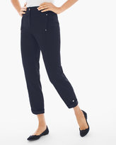 Chico's Luxe Utility Convertible Ankle Pants in Deep Navy