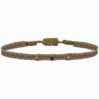 Black Diamond Leju London Wrap Bracelet With Rose Gold Filled Detail