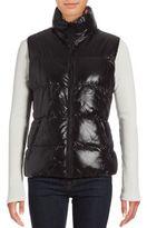 Betsey Johnson Reversible Puffer Vest