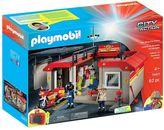 Playmobil Take-Along Fire Station Set - 5663
