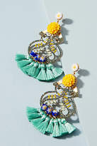 Elizabeth Cole Seahorse Drop Earrings