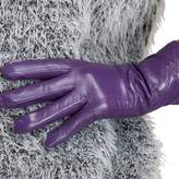 Nappaglo Nappa Leather Gloves Warm Lining Winter Handmade Curve Imported Leather Lambskin Gloves for Women (XL, )