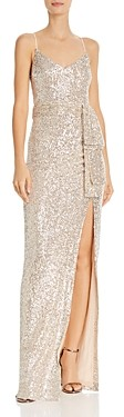 LIKELY Emile Sequined Column Gown