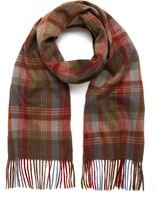 Mulberry Heritage Check Scarf Cashmere Check