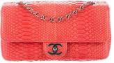 Chanel Python E/W Flap Bag