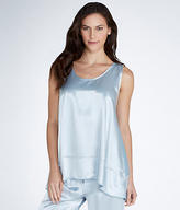 PJ Harlow Natalie Satin and Knit Tank