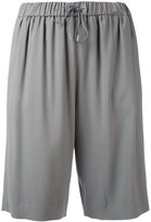 Fabiana Filippi track shorts - women - Polyester/Spandex/Elastane/Acetate/Viscose - 42