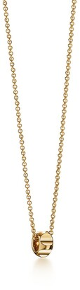 Tiffany & Co. Paloma's Groove bead pendant in 18k gold