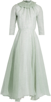 Emilia Wickstead Hera ruffled organza A-line dress