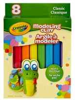 Crayola Modeling Clay, 8ct - Classic