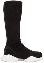 Rick Owens Suede Boot