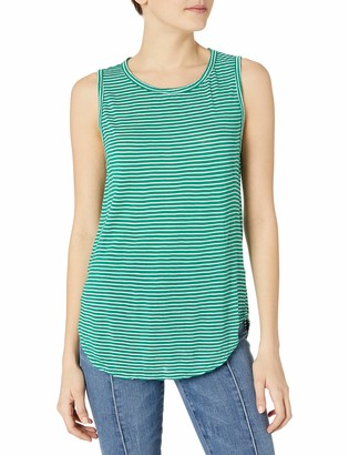 Velvet by Graham & Spencer Women's Mini Stripe Knit Tank