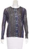 NSF Long Sleeve Knit Top