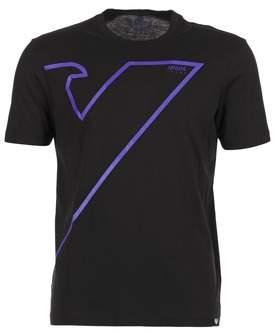 Armani Jeans SAMIL men's T shirt in Black