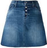 7 For All Mankind A-line denim skirt