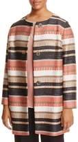 Marina Rinaldi Cima Textured Stripe Jacket