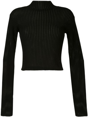 Dion Lee Cropped Float Jumper