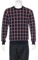 Louis Vuitton Wool Plaid Sweater