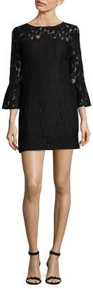 BB Dakota Flare Sleeve Lace Dress