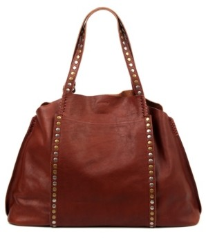 Old Trend Birch Leather Tote Bag