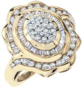 1 CT Diamond Fashion Ring in 10K Gold for Women by Ax Jewelry