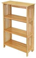 Winsome Wood Foldable 4-Tier Shelf