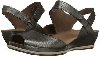 Dansko Vera (Pewter Nappa) Women's Shoes