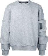 Public School sleeve detail sweatshirt