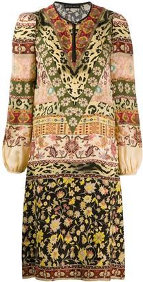 Etro Short Print Mix Dress