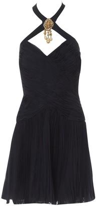 Jean Louis Scherrer Jean-louis Scherrer Black Silk Dresses