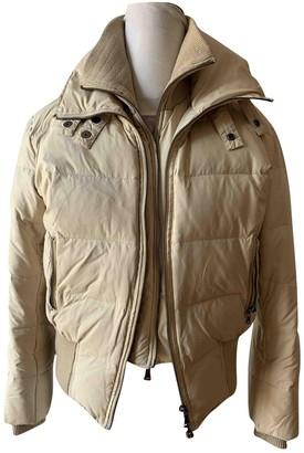 Calvin Klein White Synthetic Coats