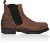Buttero Men's Oiled Leather Chelsea Boots-BROWN