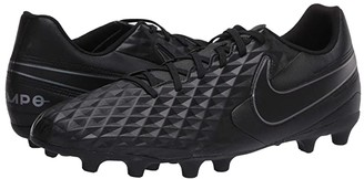 Nike Tiempo Legend 8 Club FG/MG (Black/Black) Cleated Shoes