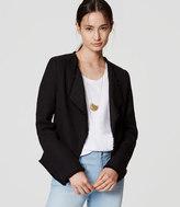 LOFT Tweed Open Jacket